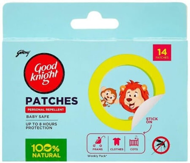 Good Knight  Patches Personal Mosquito Repellent 1