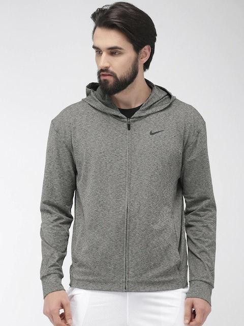 Nike Black Solid Standard Fit 1