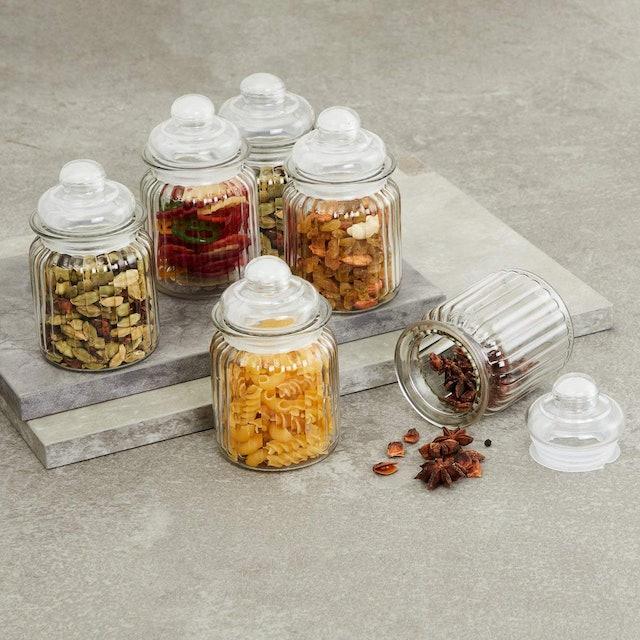 Home Centre  Mimosa Storage Glass Jars 1
