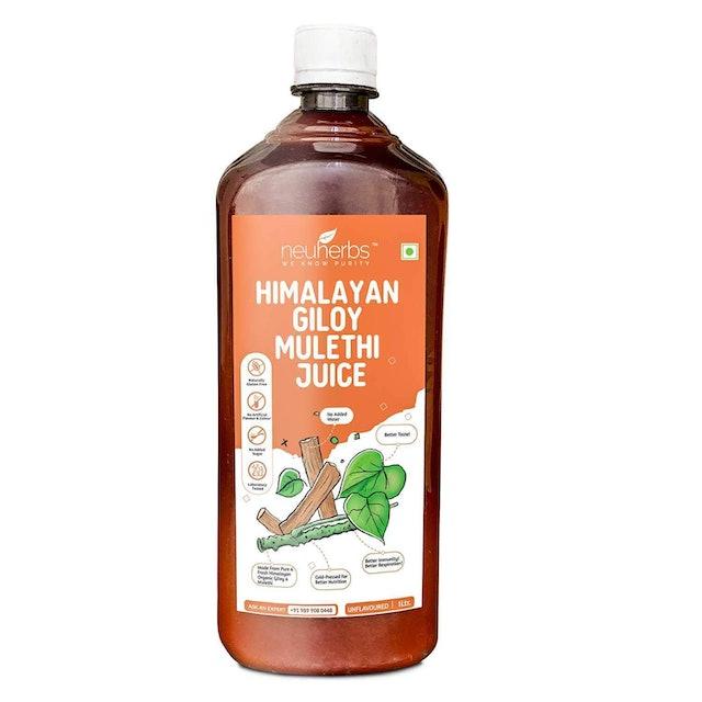 Neuherbs Himalayan Giloy Mulethi Juice 1