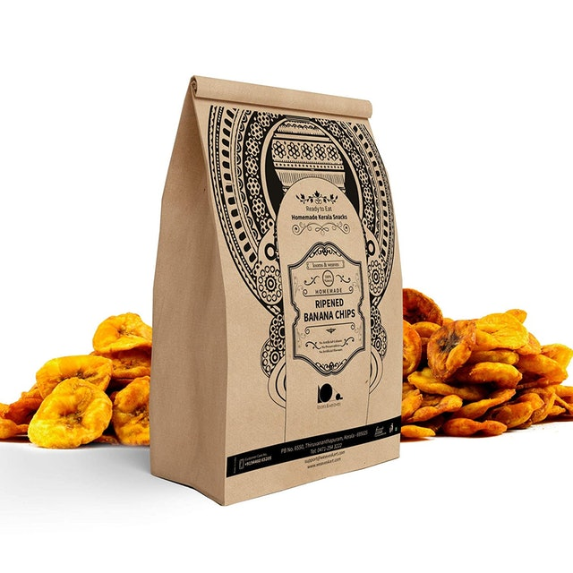 Looms & Weaves  Fresh Ripened Banana Chips 1