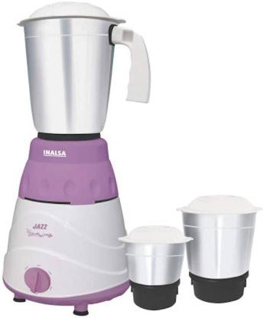 Inalsa Jazz 550 Mixer Grinder  1