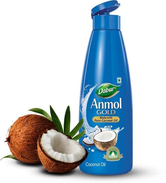 Dabur Anmol Gold Pure Coconut Hair Oil  1