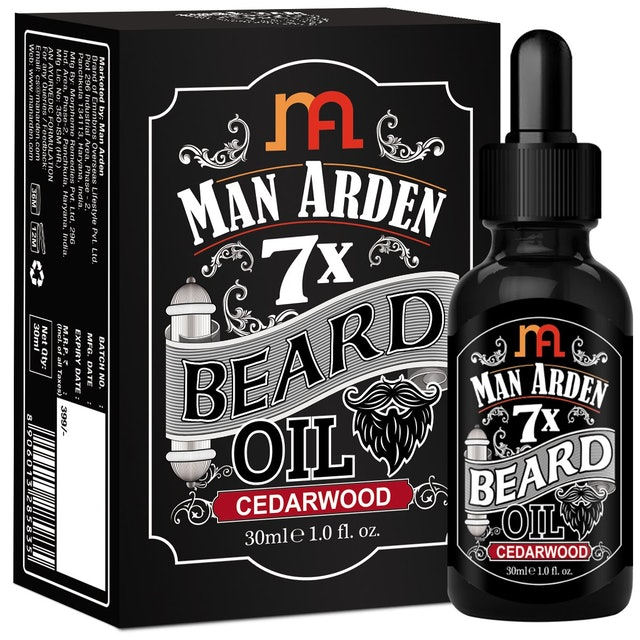 7X Beard Oil  Man Arden 1