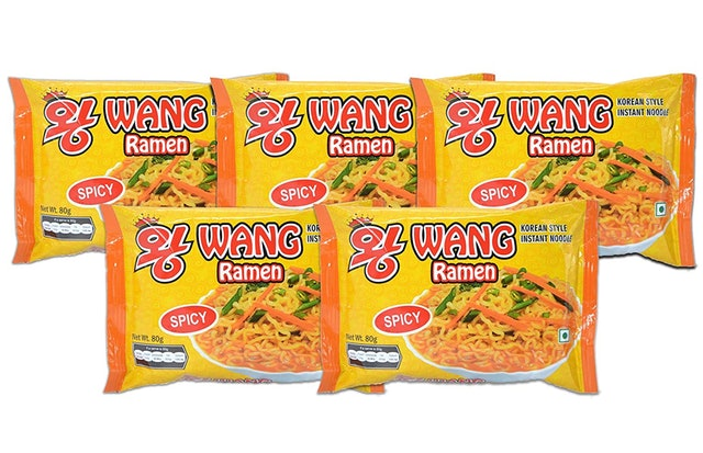 Wang Ramen   Korean Style Instant Noodles 1