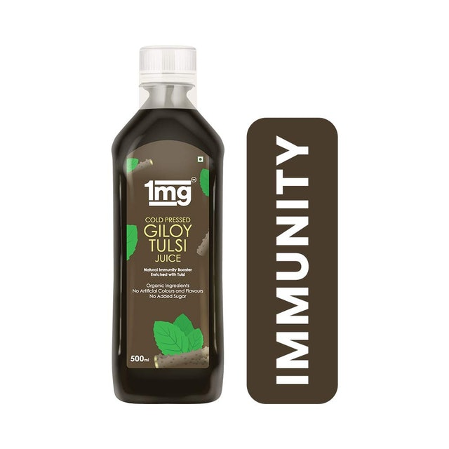 1mg Cold Pressed Giloy Tulsi Juice  1