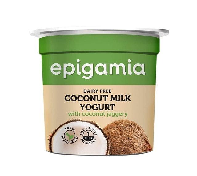 Epigamia Coconut Milk Yogurt With Coconut Jaggery 1