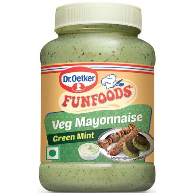 Funfoods  Mayonnaise Green Mint 1