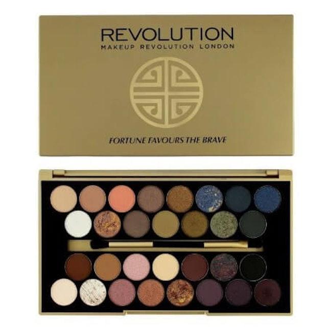 Makeup Revolution  Fortune Favours The Brave Palette 1