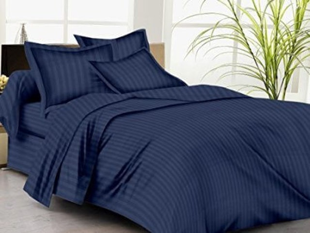 Trance Home  Linen Single Bed Sheet 1
