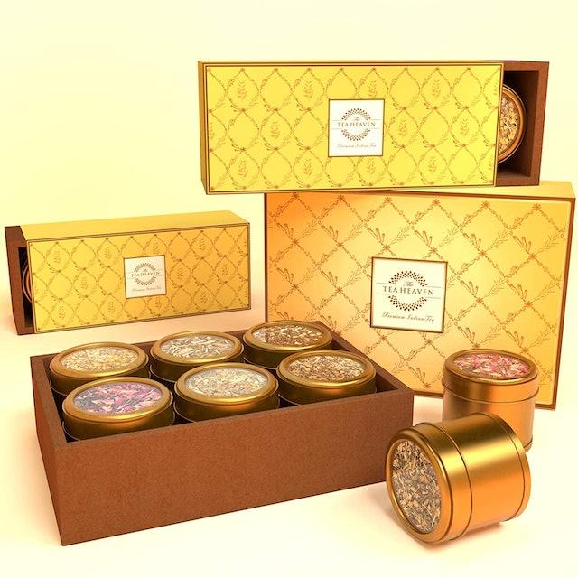 The Tea Heaven 6 Assorted Teas Gift Box 1