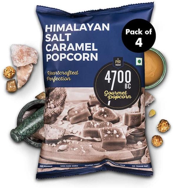 4700BC  Gourmet popcorn, Himalayan Salt Caramel 1