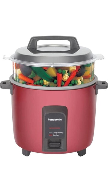 Panasonic SR-Y18FHS(E) 4.4-Litre Automatic Rice Cooker (Red) 1