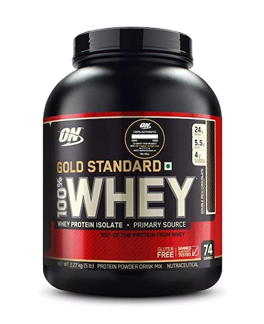 Optimum Nutrition (ON) Gold Standard 100% Whey Protein Powder 1
