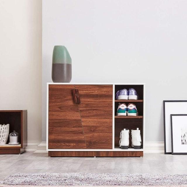 Wakefit Astrid Engineered Wood 4 Tier Shoe Rack 1