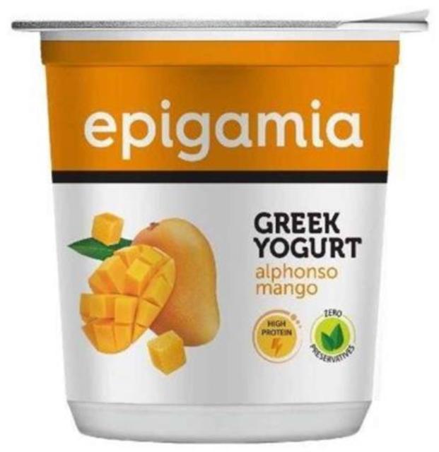 Epigamia Greek Yoghurt - Alphonso Mango 1