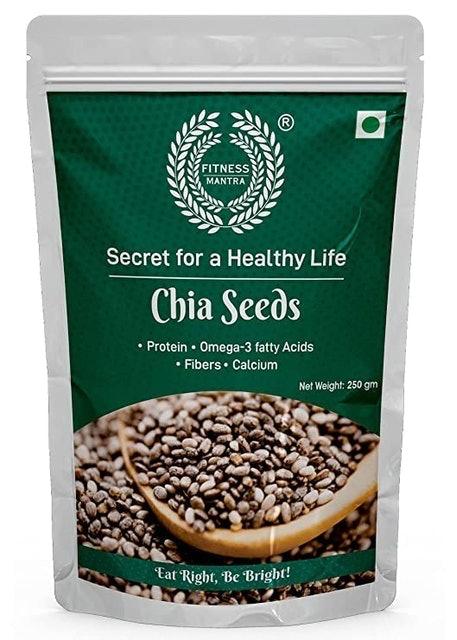 Fitness Mantra  Organic Chia Seeds, 250g 1