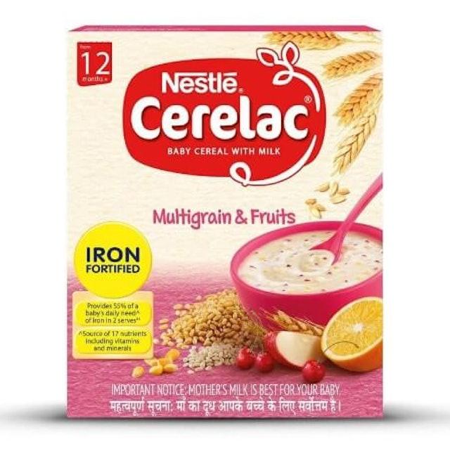 Nestle  Cerelac Multigrain with Fruits 1