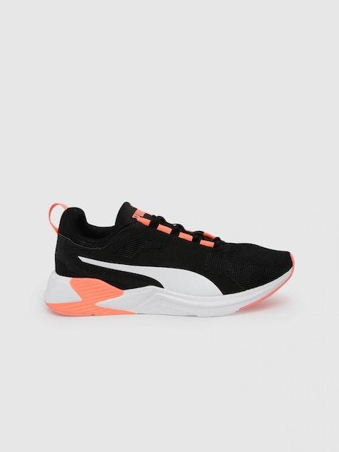 Puma Women Black Disperse XT Walking Shoes 1