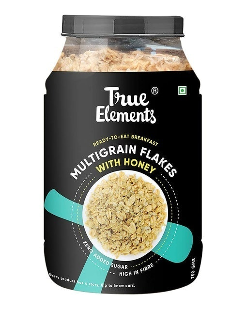 True Elements Multigrain Flakes 1