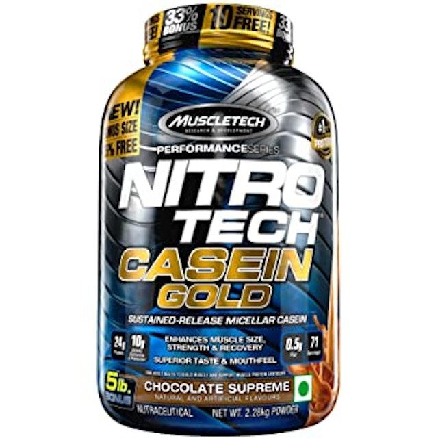 Muscletech Performance  Series Nitrotech Casein Gold 1
