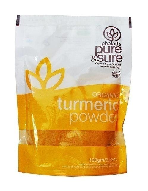 Pure & Sure Organic Turmeric Powder, 100g 1