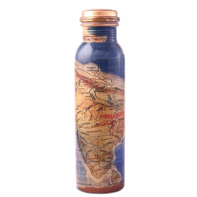 Isha Life Rally For Rivers Copper Water Bottle 1