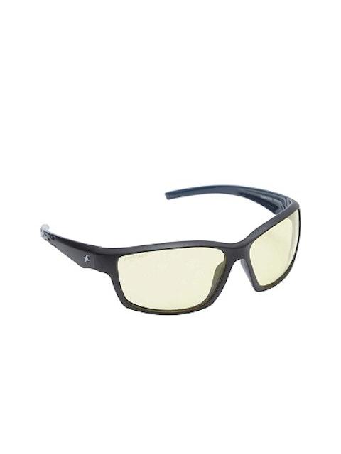 Fastrack Unisex Yellow Sports Sunglasses 1