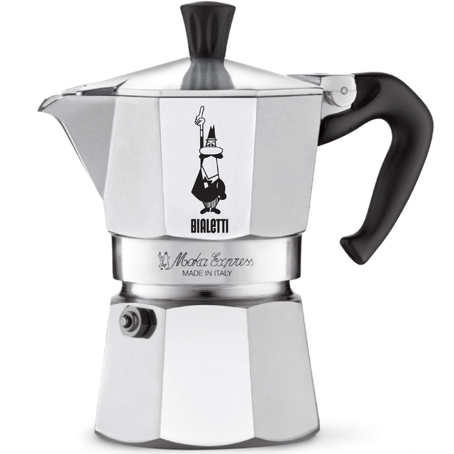 Coffee Makers Bialetti  Moka Express 3 Cup Stove Top Espresso Coffee Maker 1