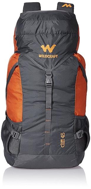 Wildcraft 45 Ltrs Grey and Orange 1