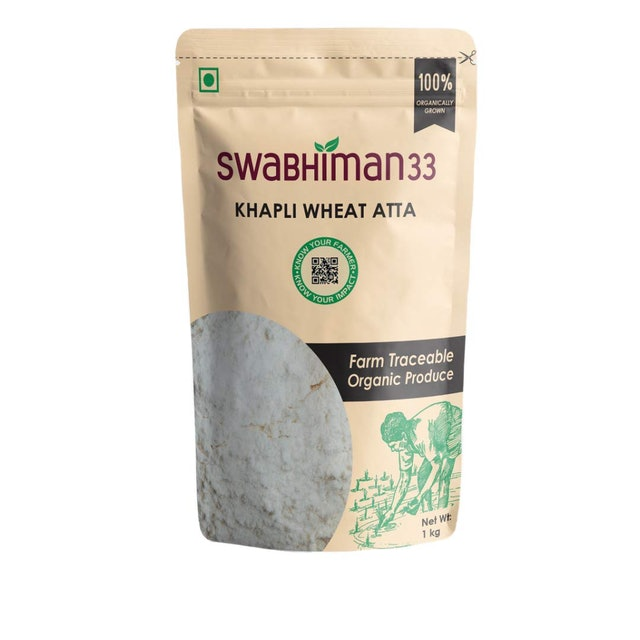 Swabhiman33 Khapli Wheat Atta  1