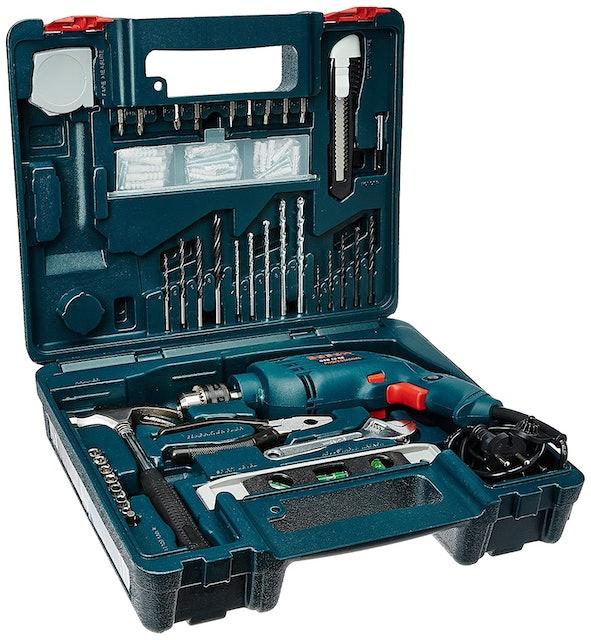 Bosch GSB 500W 10 RE Professional Tool Kit 1