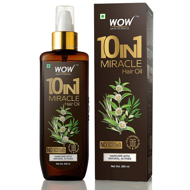 WOW 10 in1 Miracle Hair Oil 1