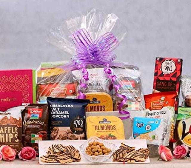 The Gift Tree Delightful Gourmet Gift Basket (Assorted) 1