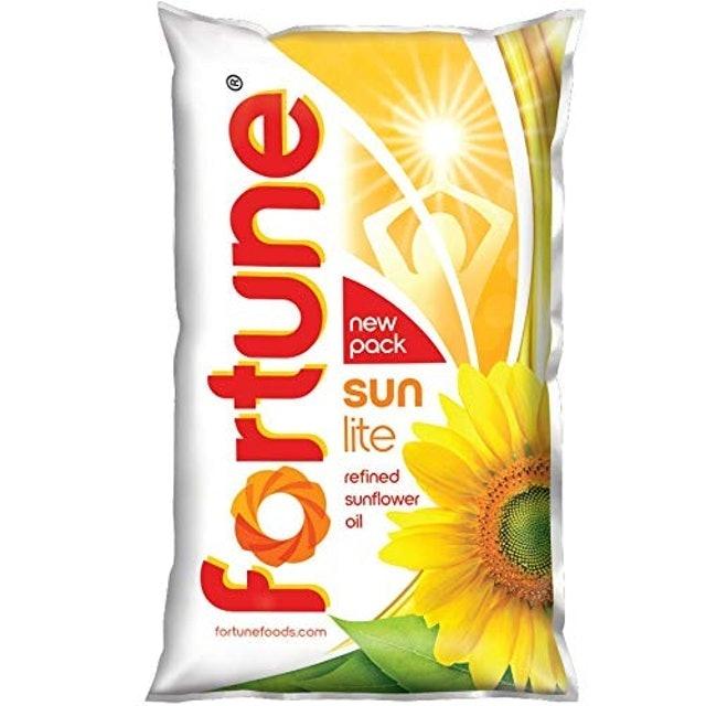 Fortune Sunlite Refined Sunflower Oil 1