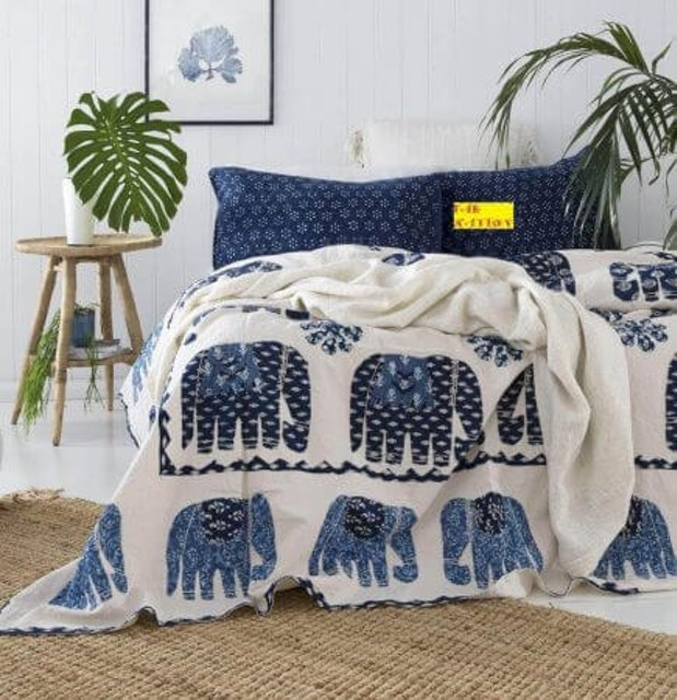 FAB NATION  Cotton Bed Sheet 1