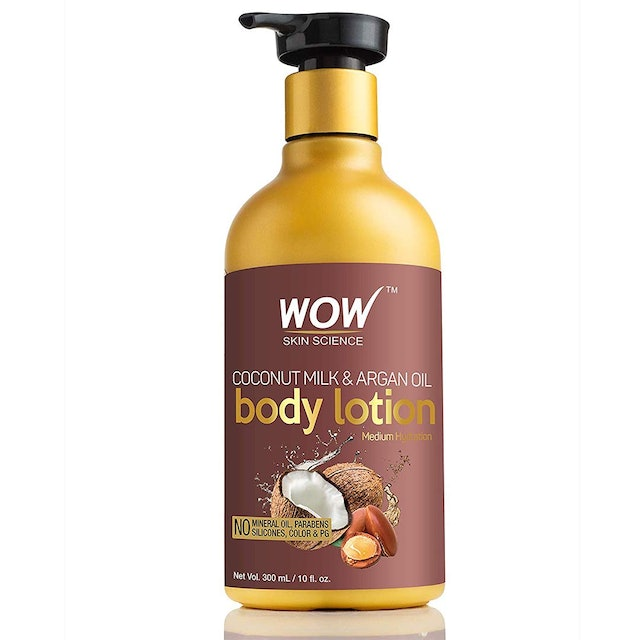 WOW  Coconut Milk and Argan Oil Body Lotion for Skin combination 1