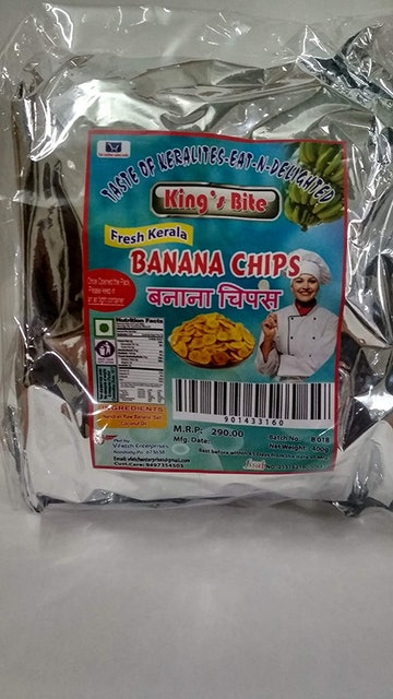 King's Bite  Fresh Kerala Banana Chips 1