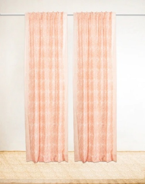 Fabindia Dayita Cotton Printed Curtain 1