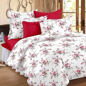 Top 10 Best Bed Sheets in India 2020 (Solimo, Pizuna, and more) 1