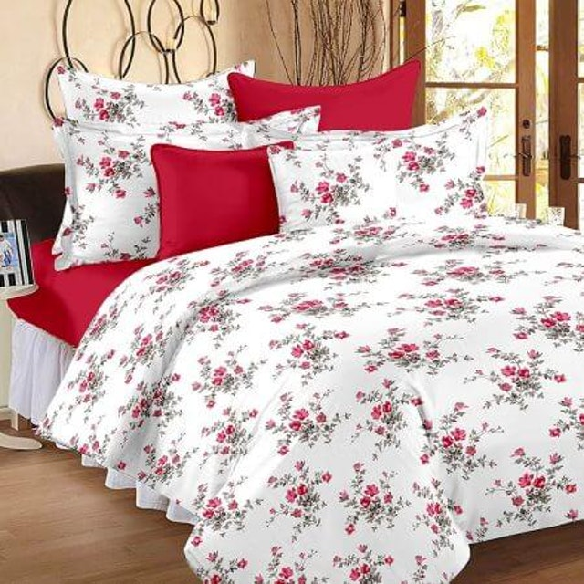 HUESLAND  160 TC Double Bed Sheet 1