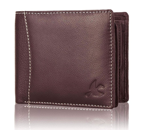 Hornbull Themes Brown Men's Leather Wallet 1