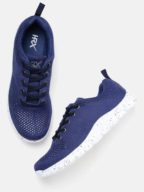 HRX Women Navy Blue Soft Walking Shoes 1