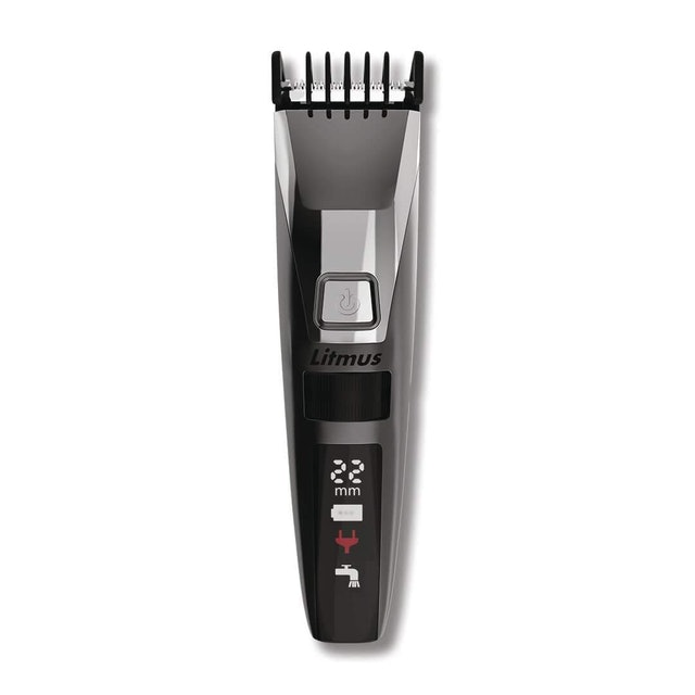 LITMUS Stubble Pro Corded and Cordless Trimmer 1