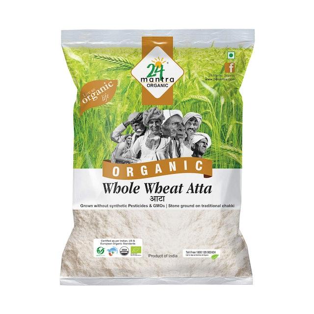 24 Mantra Organic Wholewheat Atta 1