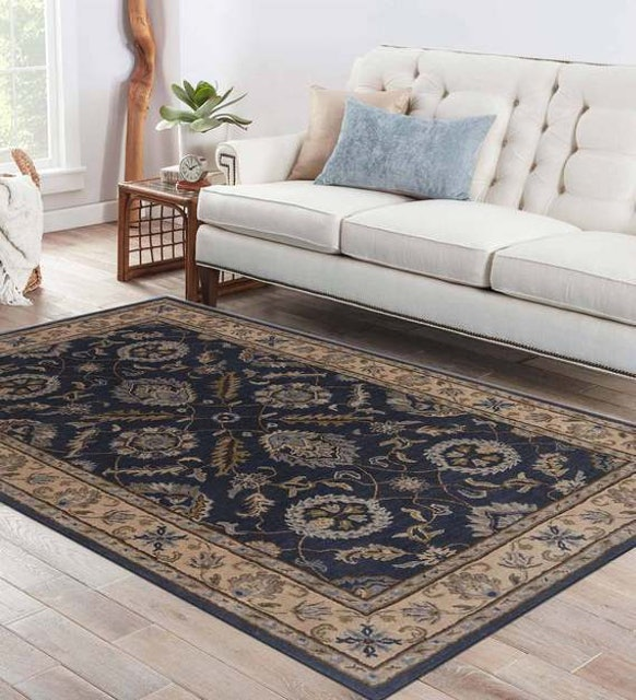 Jaipur Rugs Traditional Pattern Wool Hand Tufted 1