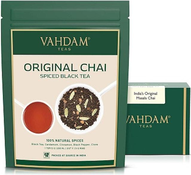 Vahdam Teas Original Chai - Spiced Black Tea 1