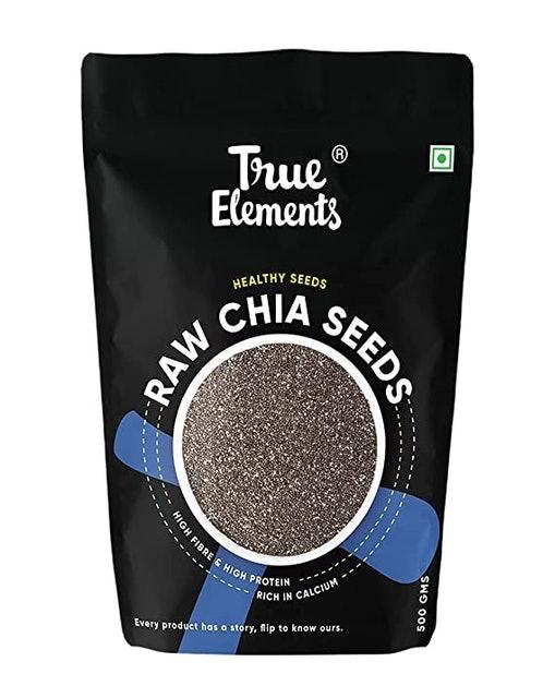True Elements  Raw Chia Seeds, 500g 1