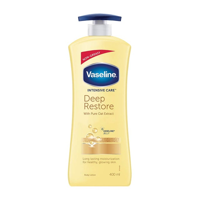Vaseline  Intensive Care Deep Restore with pure Oat extract Body Lotion 1