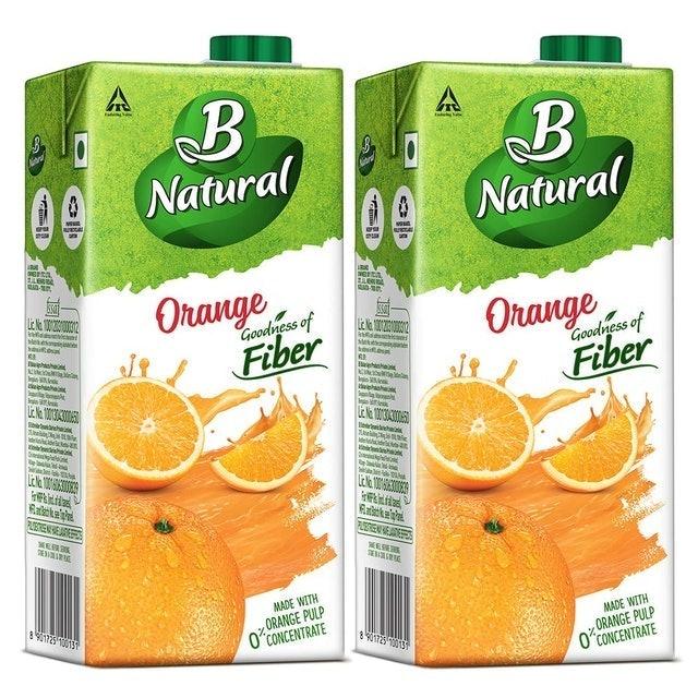 B Natural Orange Juice 1